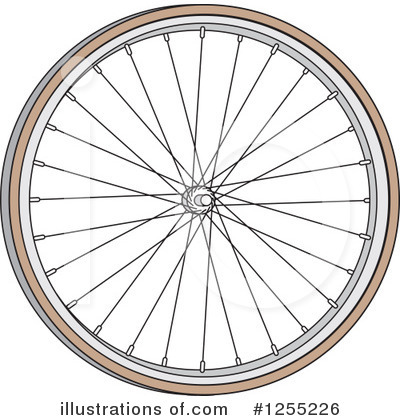 Bike Clipart #1255226 by Andy Nortnik