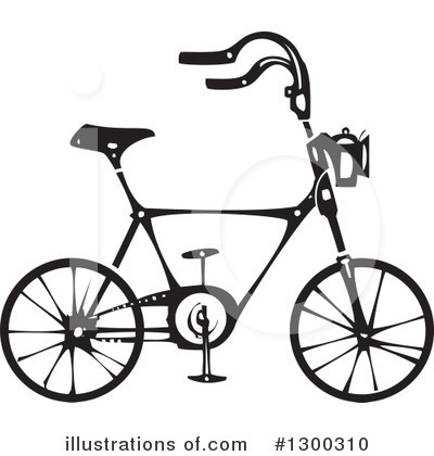 Bicycle Clipart #1300310 by xunantunich