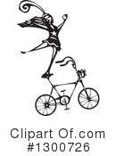Royalty-Free (RF) Bicycle Clipart Illustration #1300726