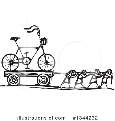 Bicycle Clipart #1344232 by xunantunich