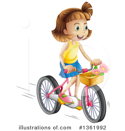 Bike Clipart #1361992 by Graphics RF