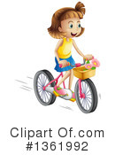 Bicycle Clipart #1361992 by Graphics RF