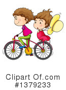 Royalty-Free (RF) Bicycle Clipart Illustration #1379233