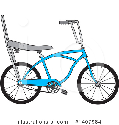 Bicycle Clipart #1407984 by djart