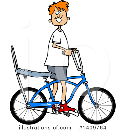 Bicycle Clipart #1409764 by djart