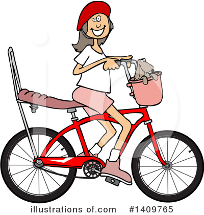 Bicycle Clipart #1409765 by djart