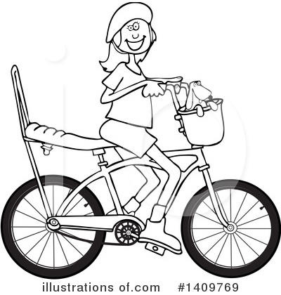 Bicycle Clipart #1409769 by djart