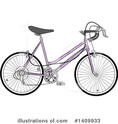 Bicycle Clipart #1409933 by djart