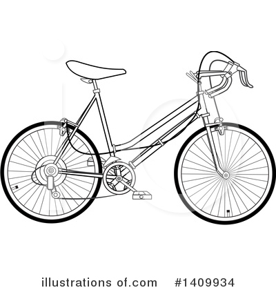 Bicycle Clipart #1409934 by djart