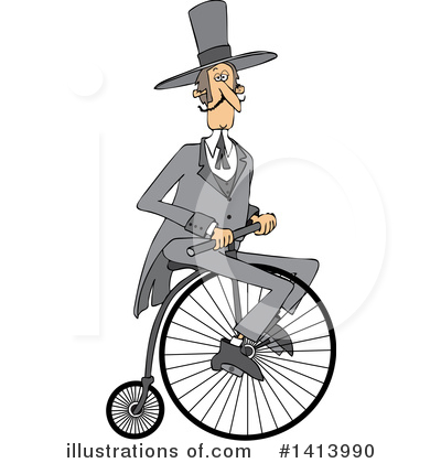 Bicycle Clipart #1413990 by djart