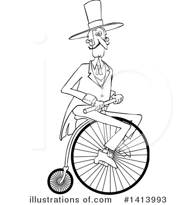 Bicycle Clipart #1413993 by djart