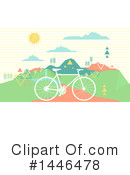 Bicycle Clipart #1446478 by BNP Design Studio