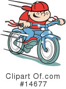 Royalty-Free (RF) Bicycle Clipart Illustration #14677