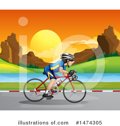 Bike Clipart #1474305 by Graphics RF