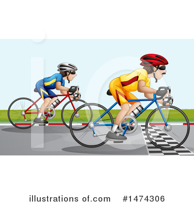 Royalty-Free (RF) Bicycle Clipart Illustration by Graphics RF - Stock Sample #1474306