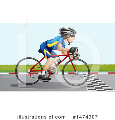 Bike Clipart #1474307 by Graphics RF
