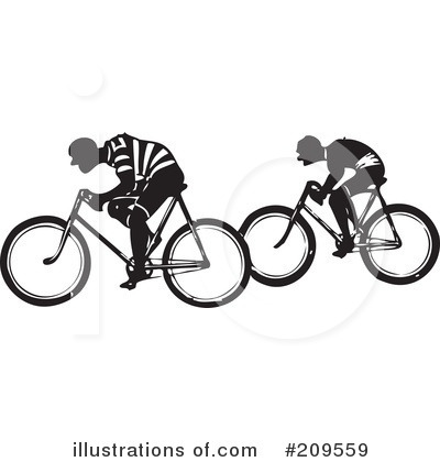 Bicycle Clipart #209559 by BestVector