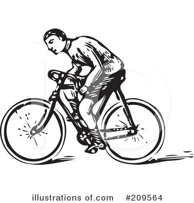 Bicycle Clipart #209564 by BestVector