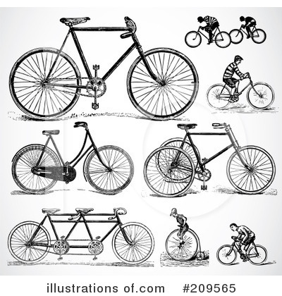Bicycle Clipart #209565 by BestVector