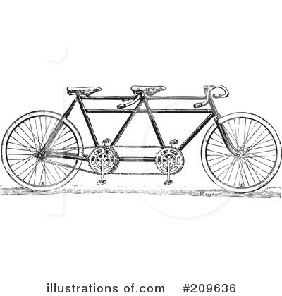 Bicycle Clipart #209636 by BestVector