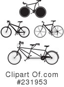 Bicycle Clipart #231953 by Frisko