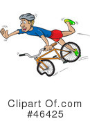 Bicycle Clipart #46425 by Paulo Resende
