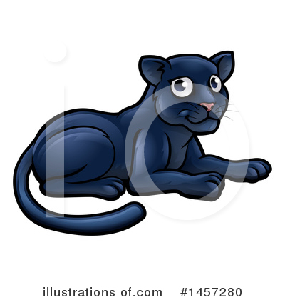 Panther Clipart #1457280 by AtStockIllustration