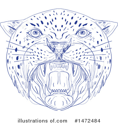 Panther Clipart #1472484 by patrimonio