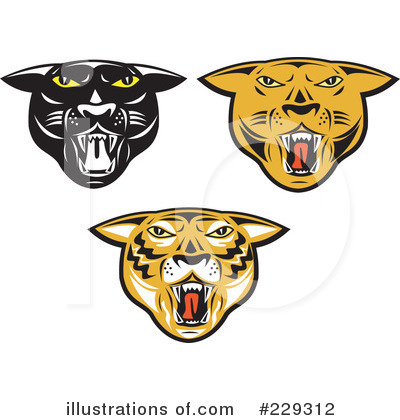 Panther Clipart #229312 by patrimonio