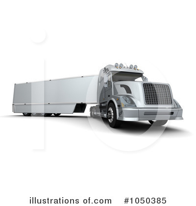 Trucking Clipart #1050385 by KJ Pargeter