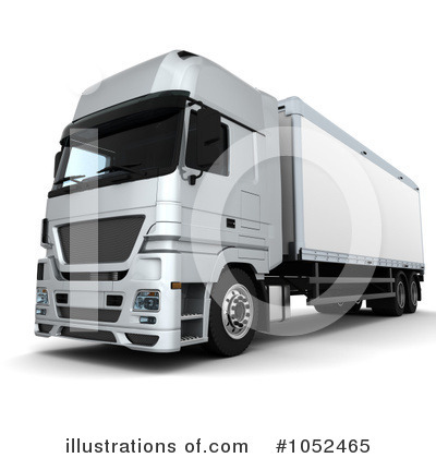 Trucking Clipart #1052465 by KJ Pargeter