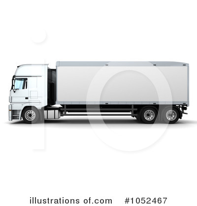 Trucking Clipart #1052467 by KJ Pargeter