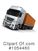 Big Rig Clipart #1054460 by KJ Pargeter