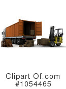 Big Rig Clipart #1054465 by KJ Pargeter