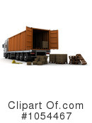 Big Rig Clipart #1054467 by KJ Pargeter