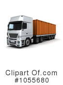 Big Rig Clipart #1055680 by KJ Pargeter