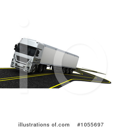 Trucking Clipart #1055697 by KJ Pargeter