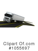 Big Rig Clipart #1055697 by KJ Pargeter