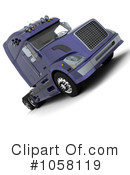 Big Rig Clipart #1058119 by KJ Pargeter