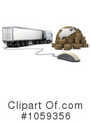 Big Rig Clipart #1059356 by KJ Pargeter
