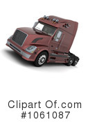 Big Rig Clipart #1061087 by KJ Pargeter