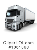 Big Rig Clipart #1061088 by KJ Pargeter
