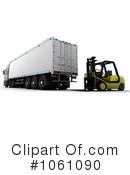 Big Rig Clipart #1061090 by KJ Pargeter