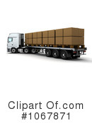 Big Rig Clipart #1067871 by KJ Pargeter