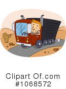 Big Rig Clipart #1068572 by BNP Design Studio