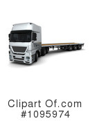 Big Rig Clipart #1095974 by KJ Pargeter