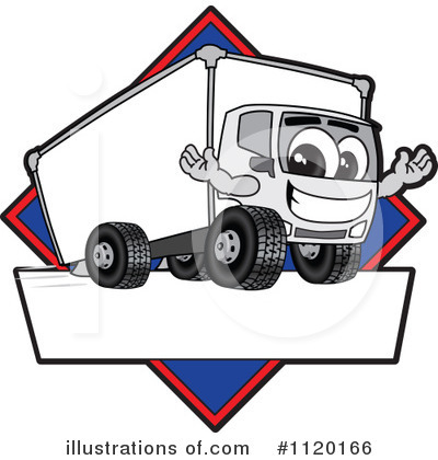 Royalty-Free (RF) Big Rig Clipart Illustration by Toons4Biz - Stock Sample #1120166