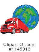 Royalty-Free (RF) Big Rig Clipart Illustration #1145013
