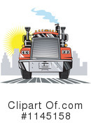 Big Rig Clipart #1145158 by patrimonio