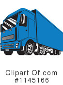 Big Rig Clipart #1145166 by patrimonio